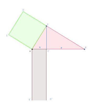 Der Satz des Pythagoras - Eine didaktische Umsetzung – Geometrie-Wiki